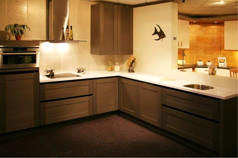 Design keuken outlet for Keuken outlet store
